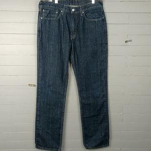 Levi's 514  Dark Blue Wash Straight Cut